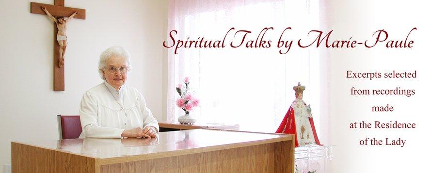 Spiritual Talks by Marie-Paule